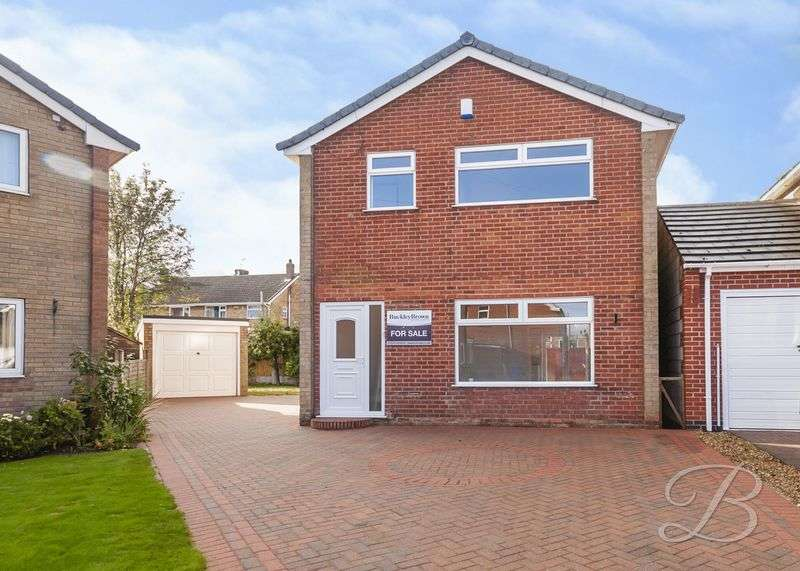 3 Bedrooms Detached House for sale in Cheriton Close, Mansfield