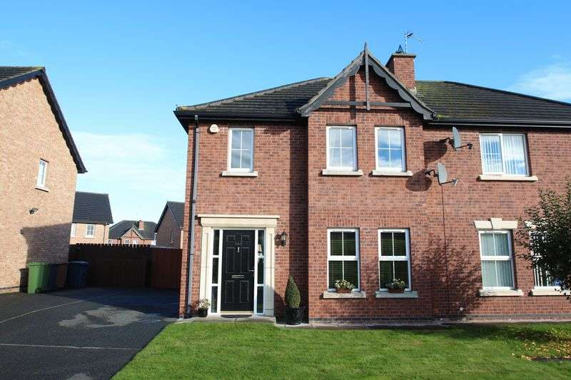 3 Bedrooms Semi Detached House for sale in 143 Bluestone Hall, Craigavon