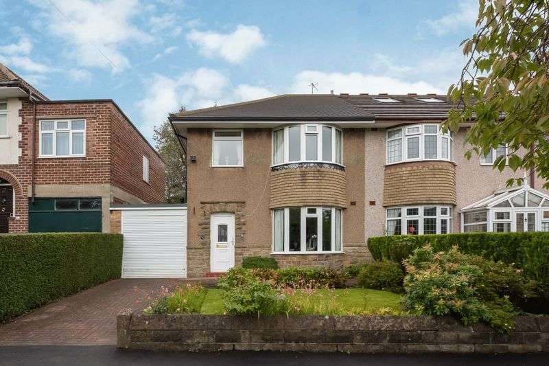 3 Bedrooms Semi Detached House for sale in Dransfield Road, Crosspool, Sheffield, S10 5RQ
