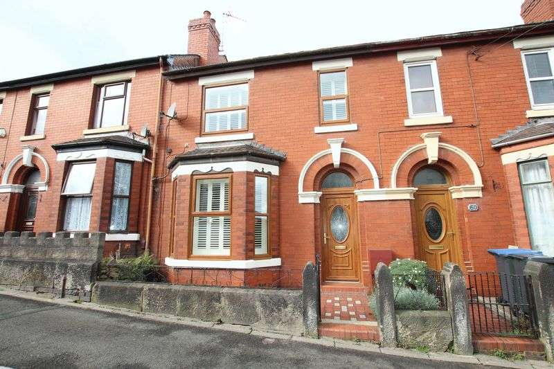 3 Bedrooms Terraced House for sale in Tunstall Road, Biddulph
