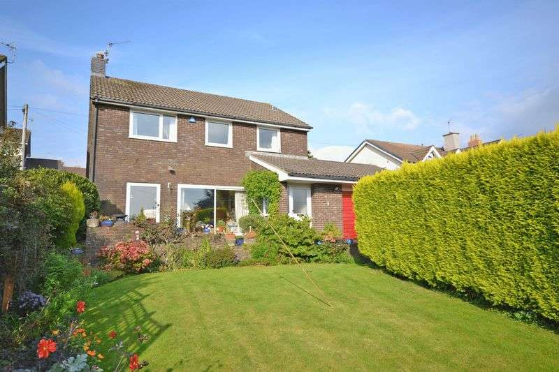 4 Bedrooms Detached House for sale in Pentrepoeth Road, Newport