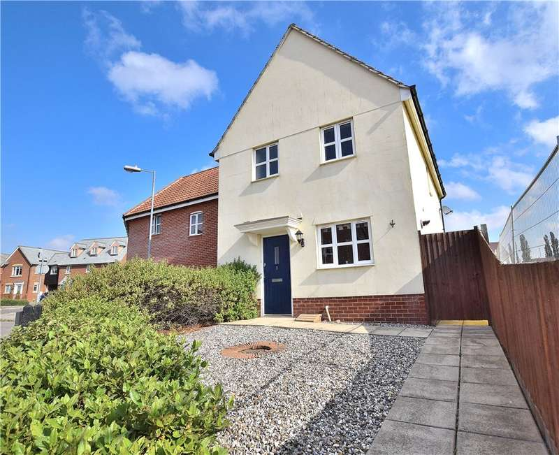 3 Bedrooms End Of Terrace House for sale in Flitch Green