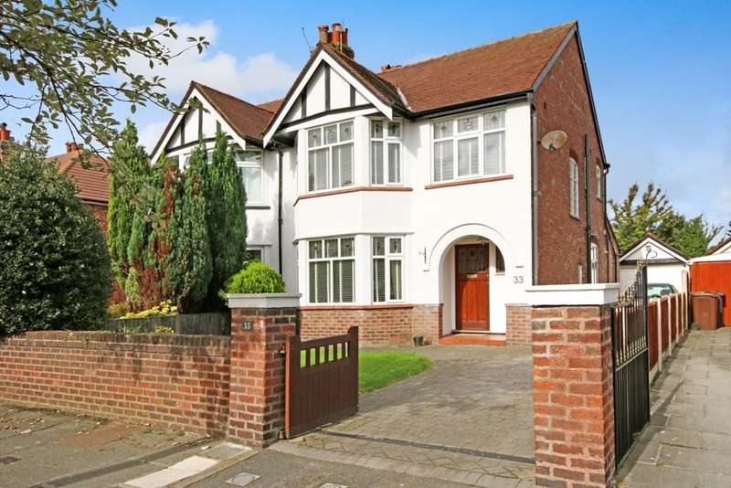 3 Bedrooms Semi Detached House for sale in Beresford Drive, Churchtown, Southport