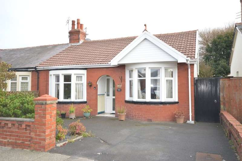 2 Bedrooms Semi Detached Bungalow for sale in Selby Avenue, South Shore, Blackpool