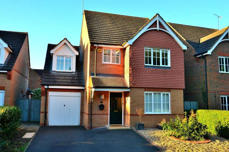 4 Bedrooms Detached House for sale in McLernon Way, Winslow