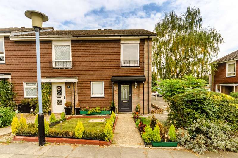 2 Bedrooms End Of Terrace House for sale in Southwood Close, Worcester Park, KT4