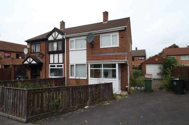 2 Bedrooms Semi Detached House for sale in Richmond Court, Middlesbrough, Cleveland, TS6 7QU