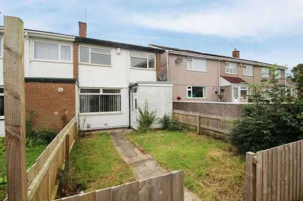 3 Bedrooms Terraced House for sale in Laburnum Close, Barry, South Glamorgan, CF62 9DZ