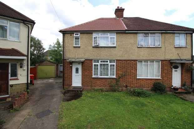 3 Bedrooms Semi Detached House for sale in Thackeray Close, Uxbridge, Middlesex, UB8 3DW