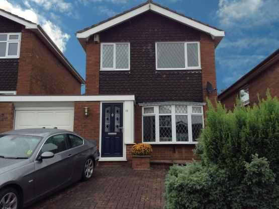 3 Bedrooms Detached House for sale in Yarnfield Close, Stoke-On-Trent, Staffordshire, ST3 6RR