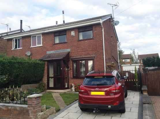 2 Bedrooms Semi Detached House for sale in Wem Grove, Mitchells Wood, Staffordshire, ST5 7RA
