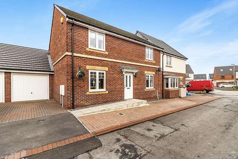 4 Bedrooms Semi Detached House for sale in Hadrian Drive, Blaydon-On-Tyne, NE21