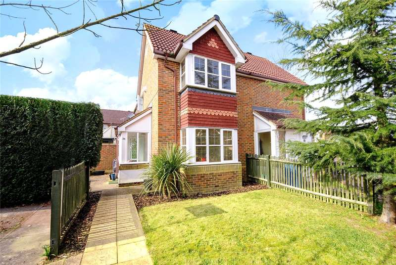 1 Bedroom End Of Terrace House for sale in Francis Gardens, Warfield, Berkshire, RG42