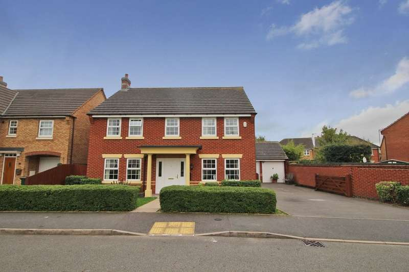 4 Bedrooms Detached House for sale in Valencia Road, Coventry, CV3