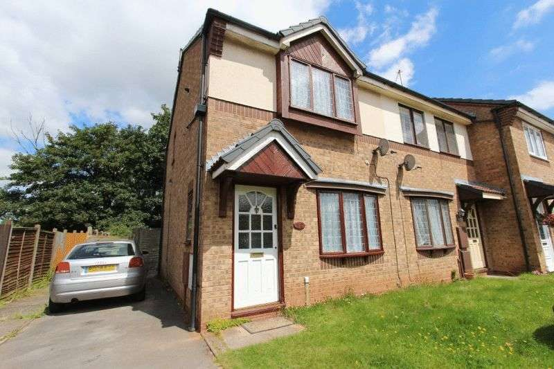2 Bedrooms Terraced House for sale in Patriot Close, Walsall
