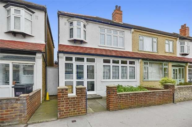 3 Bedrooms End Of Terrace House for sale in Davidson Road, Croydon