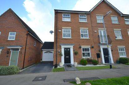 4 Bedrooms End Of Terrace House for sale in Presland Way, Irthlingborough, Wellingborough, Northamptonshire