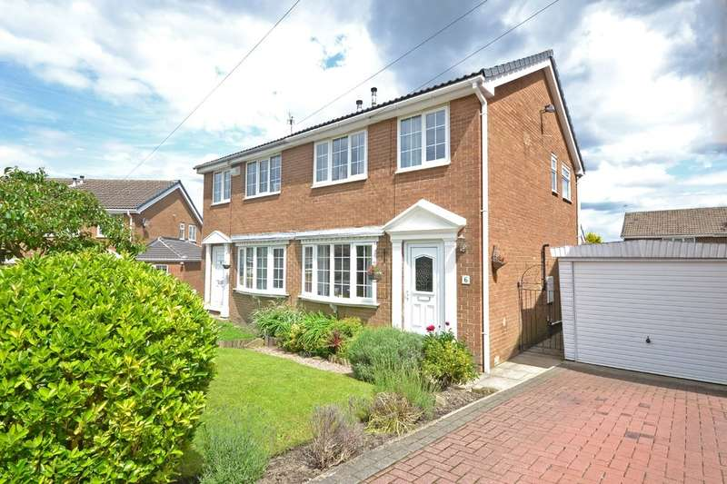 3 Bedrooms Semi Detached House for sale in Highfields, Netherton, Wakefield