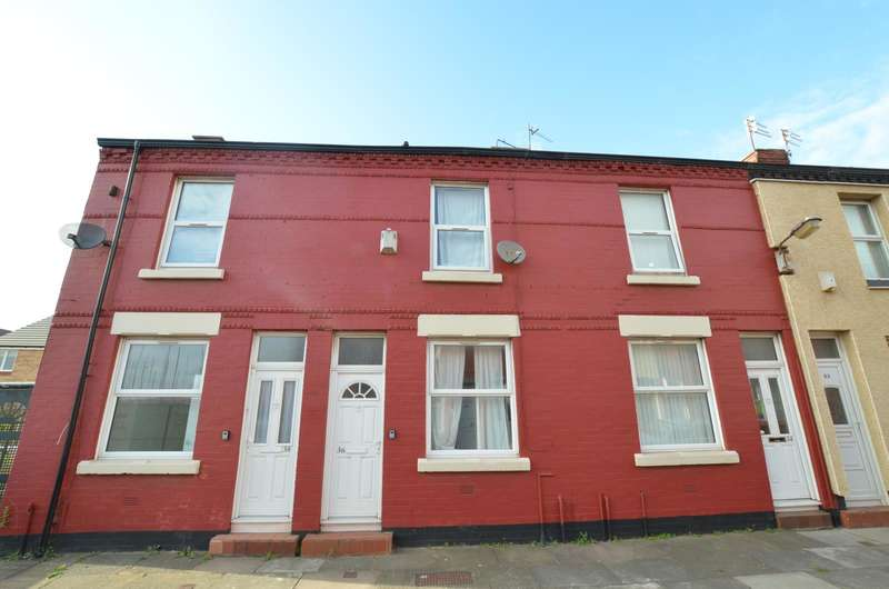 2 Bedrooms Terraced House for sale in Longfellow Street, Bootle, Merseyside, L20