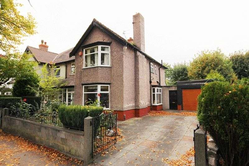 4 Bedrooms Semi Detached House for sale in Mather Avenue, Mossley Hill, Liverpool, L18