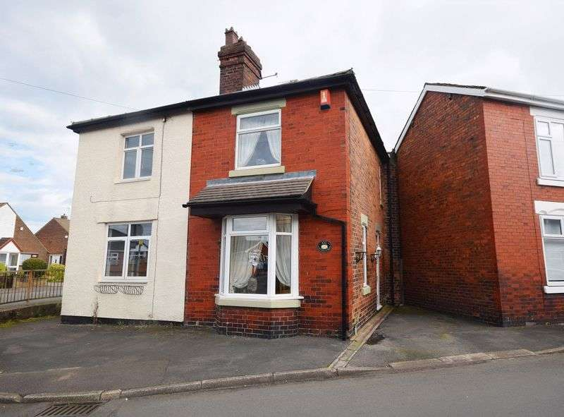 3 Bedrooms Semi Detached House for sale in Church Street, Talke