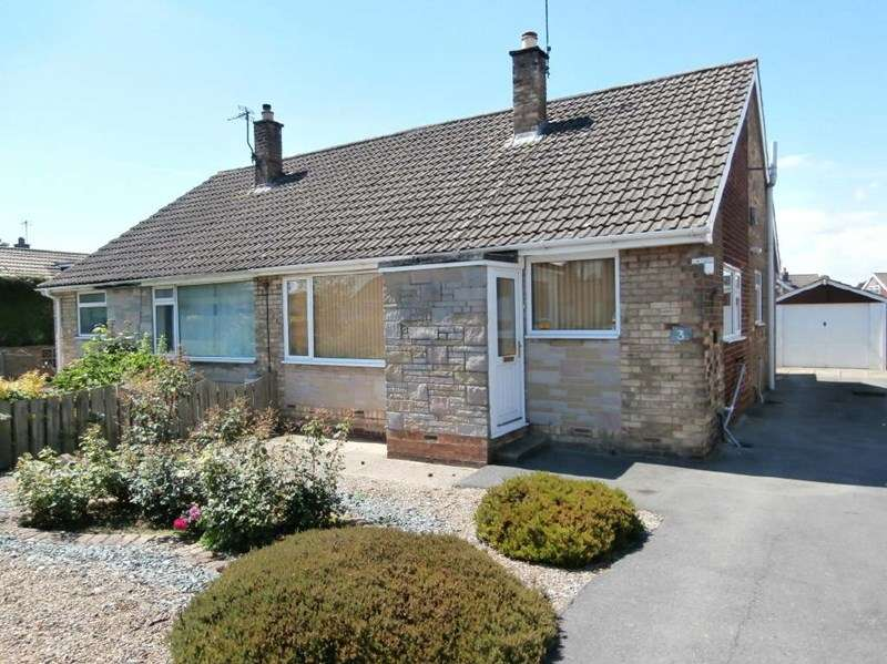 2 Bedrooms Semi Detached Bungalow for sale in Eastfield Road, Keyingham,