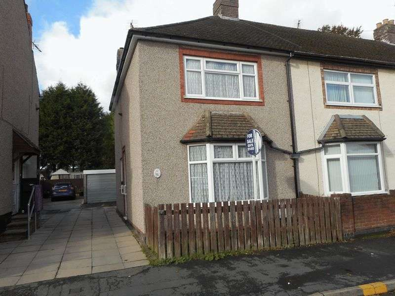 2 Bedrooms Semi Detached House for sale in Westbury Road, Nuneaton