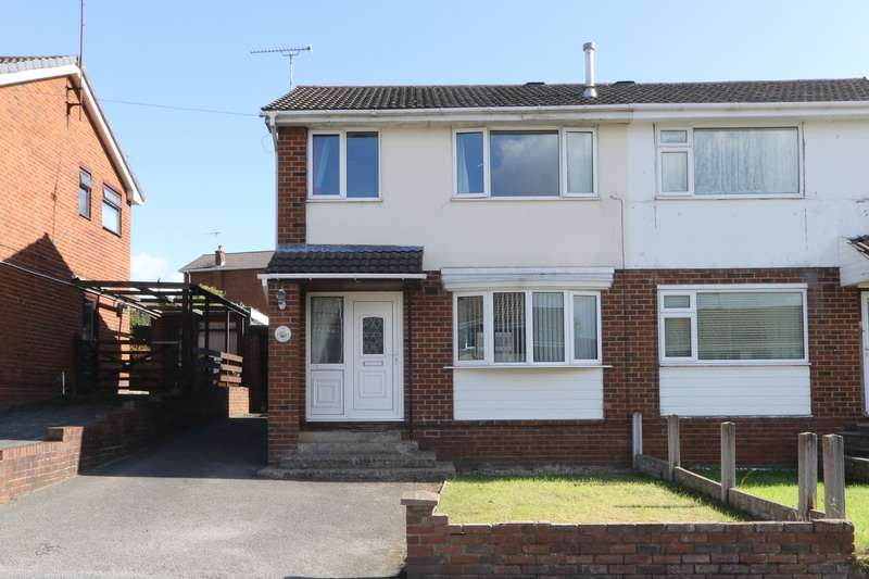 3 Bedrooms Semi Detached House for sale in Park Avenue, Mynydd Isa, Mold, Flintshire, CH7