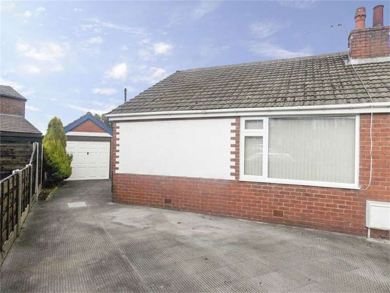 2 Bedrooms Semi Detached Bungalow for sale in Norfolk Drive, Farnworth, Bolton, Lancashire