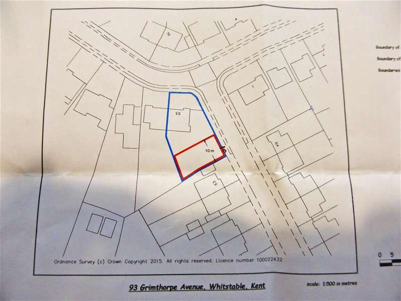 1 Bedroom Land Commercial for sale in Sherwood Drive, Whitstable, Kent