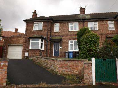 3 Bedrooms Semi Detached House for sale in Stamford Avenue, Altrincham, Greater Manchester, .