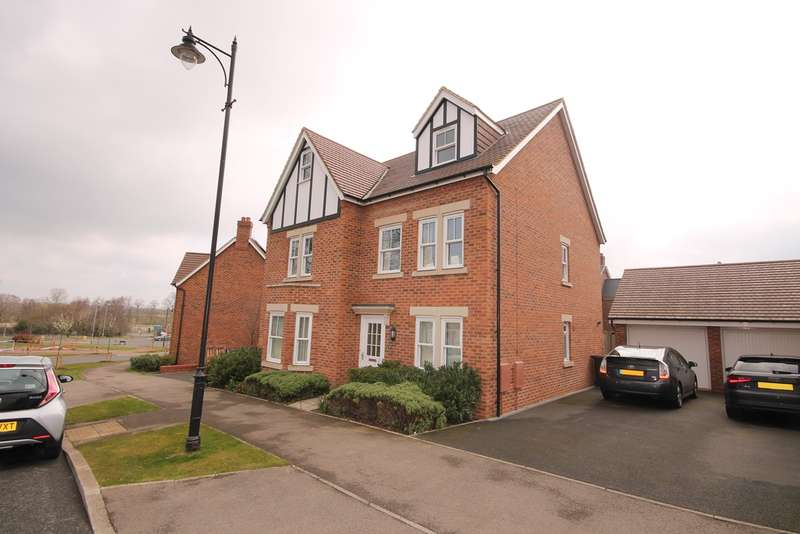 5 Bedrooms Detached House for sale in Martell Drive, Kempston, MK42