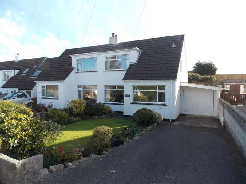 2 Bedrooms Semi Detached House for sale in Carew Road, St Day, Redruth