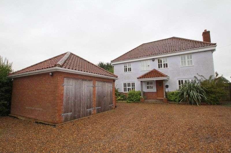 4 Bedrooms Detached House for sale in Panxworth, NR13
