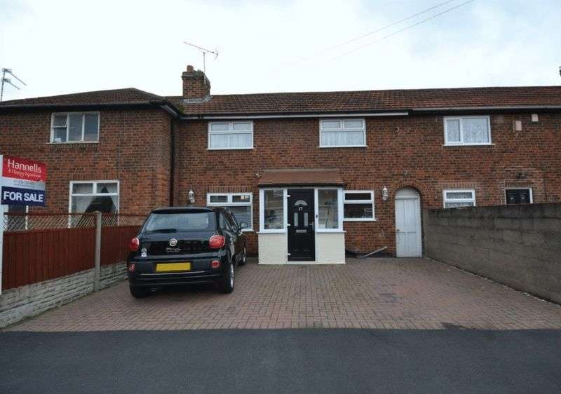 2 Bedrooms Terraced House for sale in SUFFOLK AVENUE, CHADDESDEN