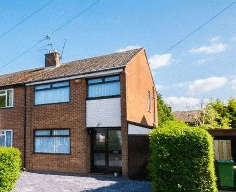 3 Bedrooms Semi Detached House for sale in Sandridge Road, Pensby