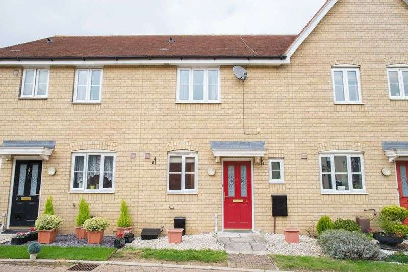 2 Bedrooms Terraced House for sale in Skylark Close, Bury St. Edmunds