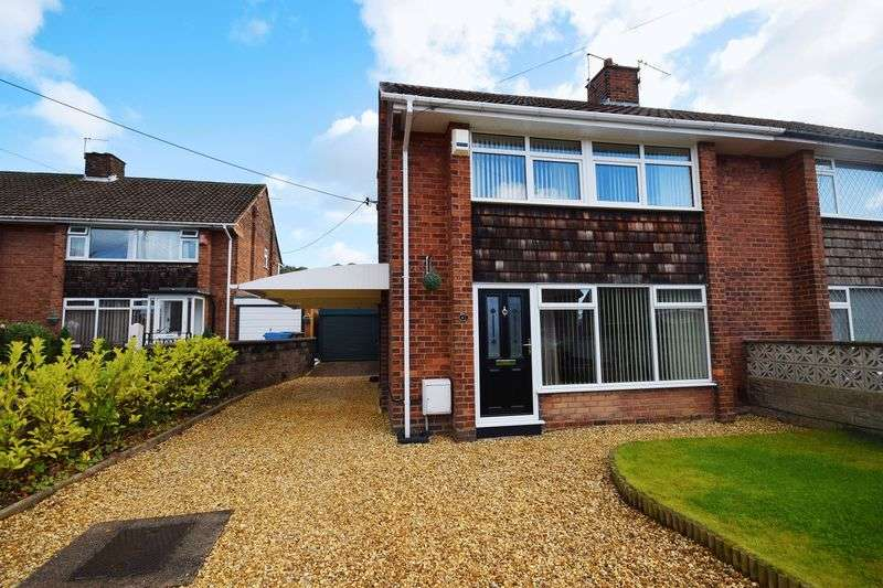 3 Bedrooms Semi Detached House for sale in Gilman Avenue, Baddeley Green