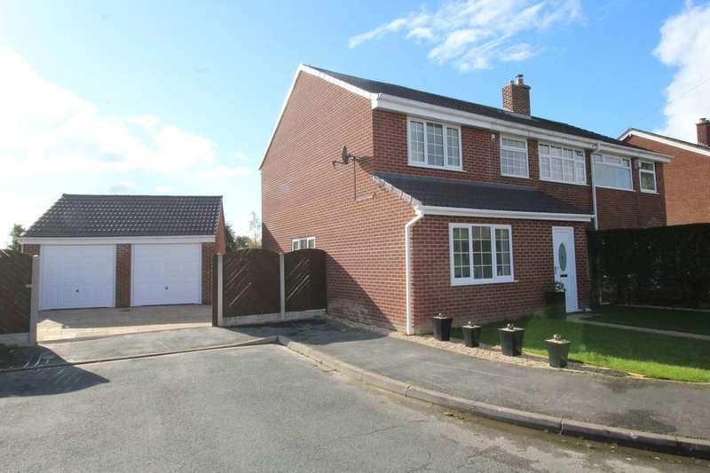 4 Bedrooms Semi Detached House for sale in Calder Crescent, Pollington, Goole, DN14