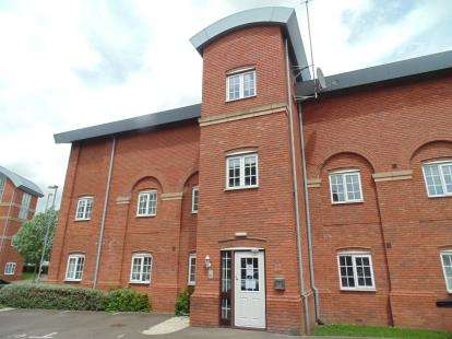 2 Bedrooms Flat for sale in Caxton Court, Burton-On-Trent, Staffordshire