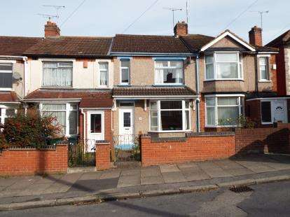 2 Bedrooms Terraced House for sale in Honiton Road, Coventry, West Midlands