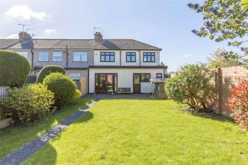 4 Bedrooms End Of Terrace House for sale in Laburnum Avenue, Elm Park