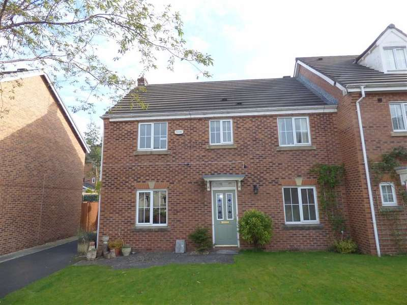 4 Bedrooms Property for sale in Hornchurch Court, Hopwood, HEYWOOD, Lancashire, OL10