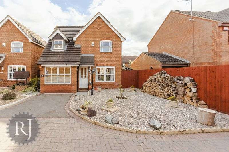 3 Bedrooms Detached House for sale in Howe Rock Place, Tattenhoe, Milton Keynes