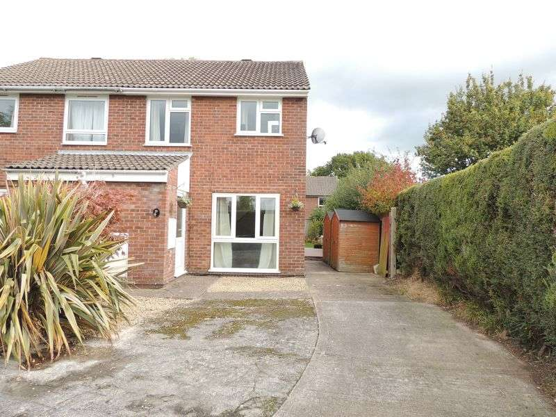 3 Bedrooms Semi Detached House for sale in Dunster Gardens, Willsbridge, Bristol
