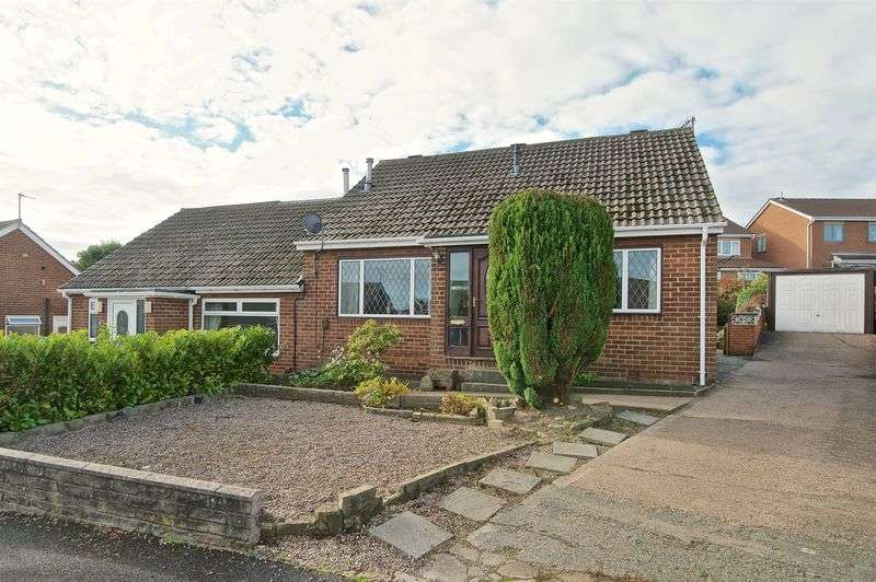 3 Bedrooms Semi Detached Bungalow for sale in Harwill Grove, Churwell, Morley, Leeds