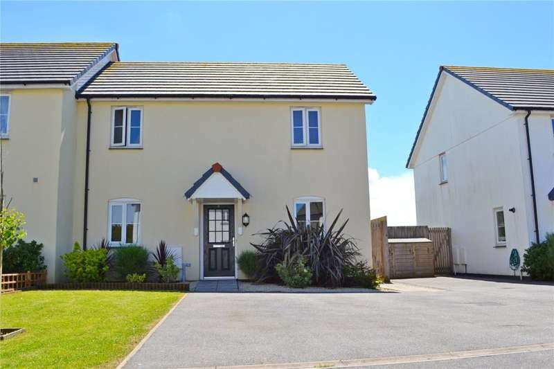 3 Bedrooms Semi Detached House for sale in Ellis Meadow, Connor Downs, Hayle