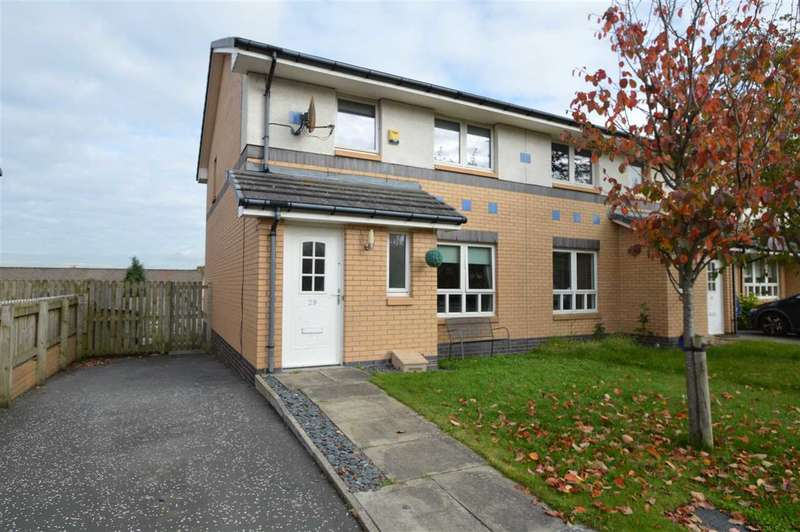 3 Bedrooms Semi Detached House for sale in James Murdie Gardens, Hamilton