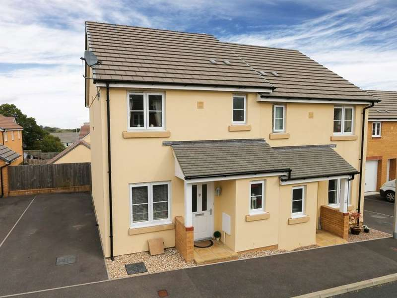 3 Bedrooms Semi Detached House for sale in Orchard Grove, Newton Abbot