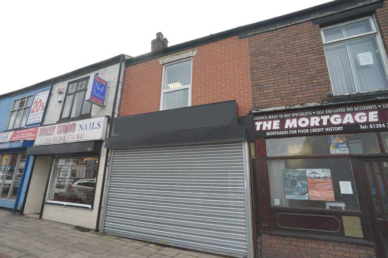 Retail Property (high Street) Commercial for sale in Higher Market Street, Farnworth